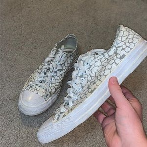 Converse Blank Canvas Low Tops
